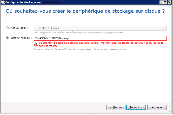 Troubleshoot access issue to a shared folder using
