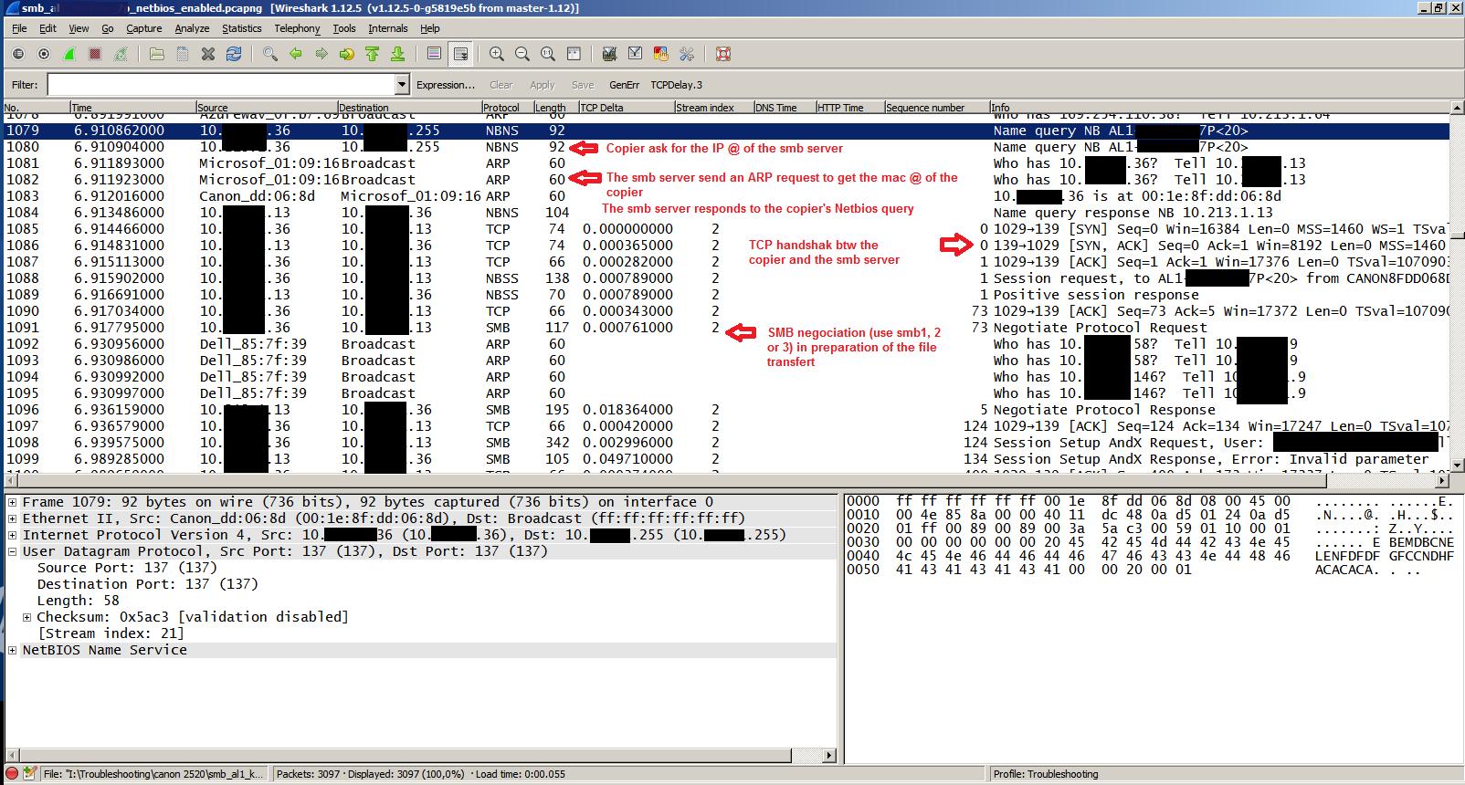 Cannot Scan to a Shared Folder Using Canon IR Copier – ZineTek
